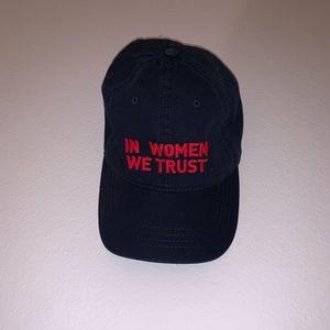 Accessories - In Women We Trust hat